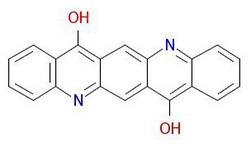 Pigmen-violet-19-Molekul-Struktur
